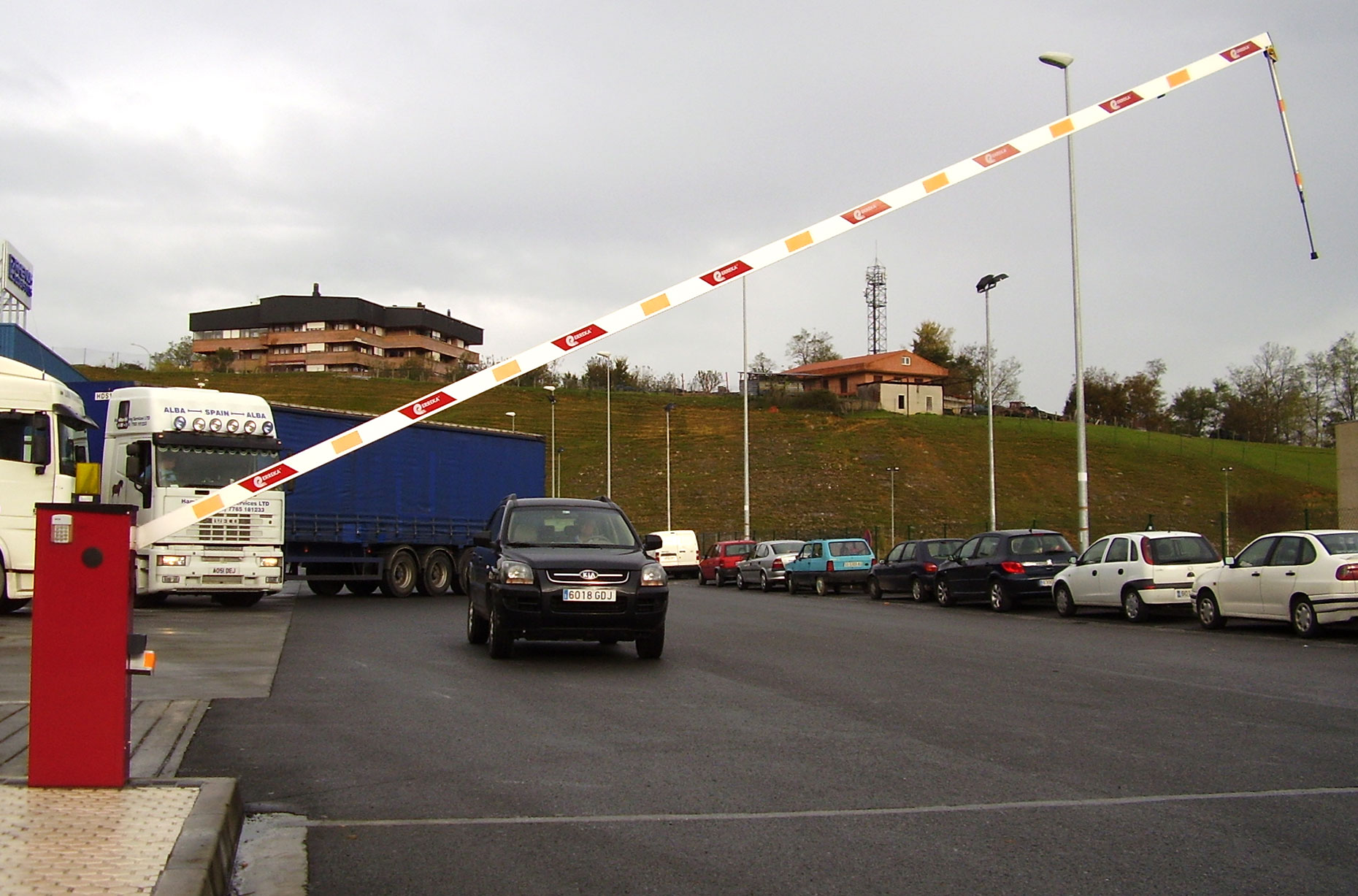 Barreras vehiculares