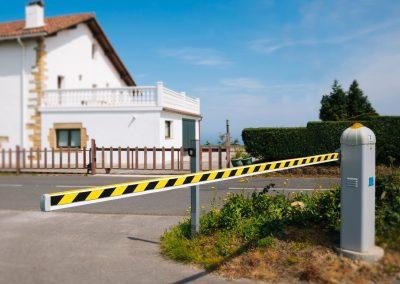 Barreras zonas residenciales