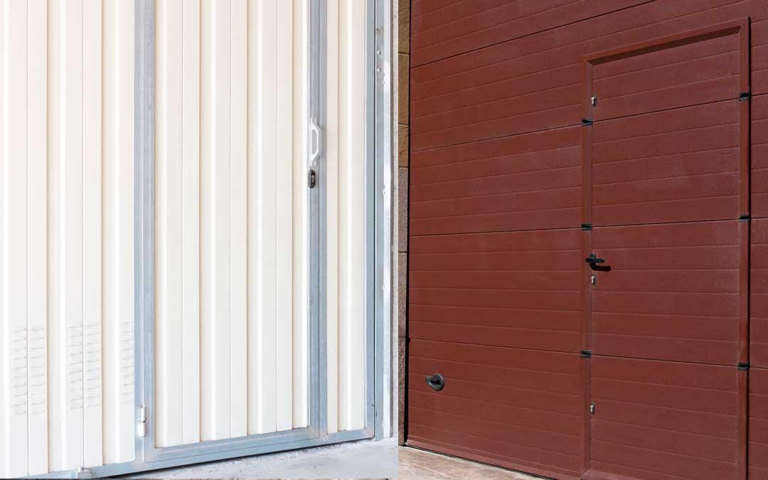 Puertas garaje basculantes en Gipuzkoa